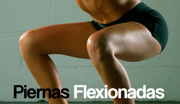 piernas flexionadas