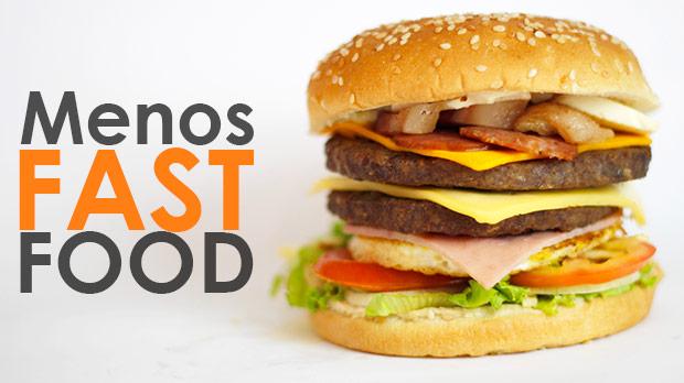 fast food engorda