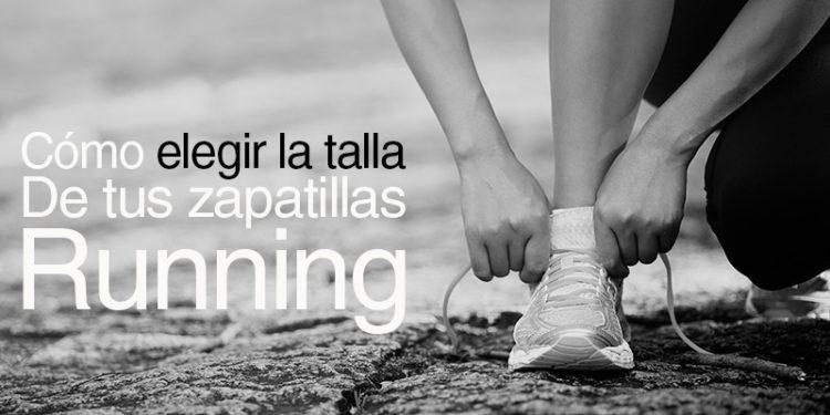 elegir talla zapatillas runnning