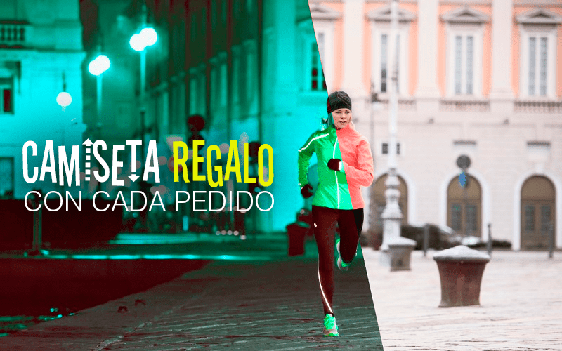 camiseta running regalo