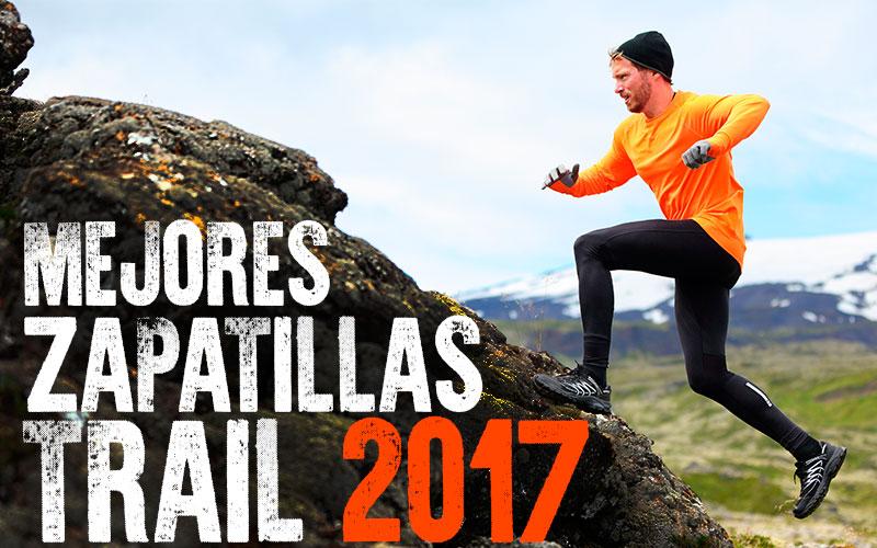 mejores zapatillas trail 2017