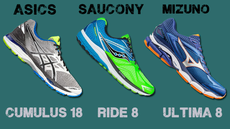 Cumulus 18, Ride 3 y Ultima 8, las 3 zapatillas de running para regalar