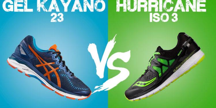 kayano 23 vs hurricane iso 3