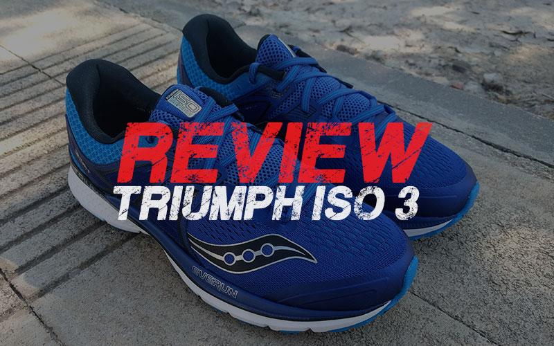 Review Saucony Triumph Iso 3 súper amortiguación
