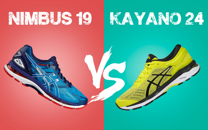 asics gel nimbus vs kayano