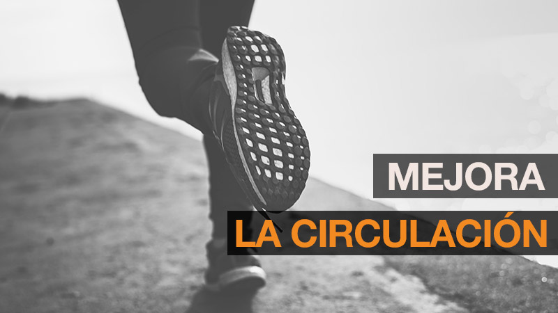 Beneficios running circulación