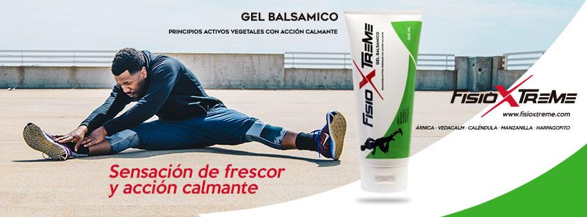 FisioXtreme, gel balsámico con acción calmante.
