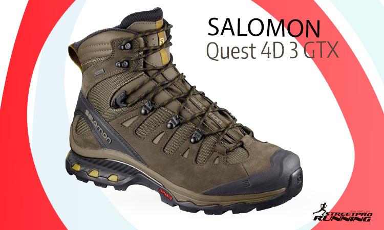 Zapatillas para trekking Salomon Quest 4D 3 GTX