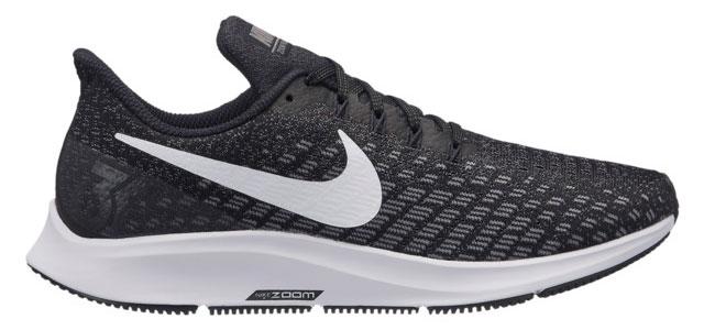 Perfil de las Nike Pegasus 35 running.