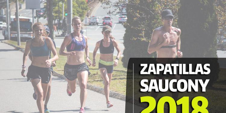Zapatillas Saucony 2018 de running.