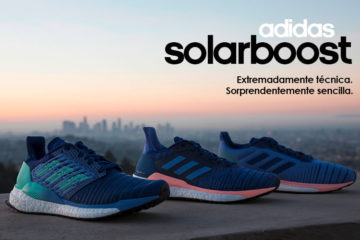 Nuevas zapatillas adidas SolarBoost de running.