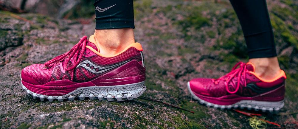 saucony trail mujer zapatos