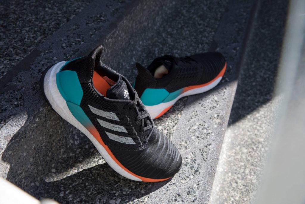 Nuevas zapatillas SolarBoost de adidas running.