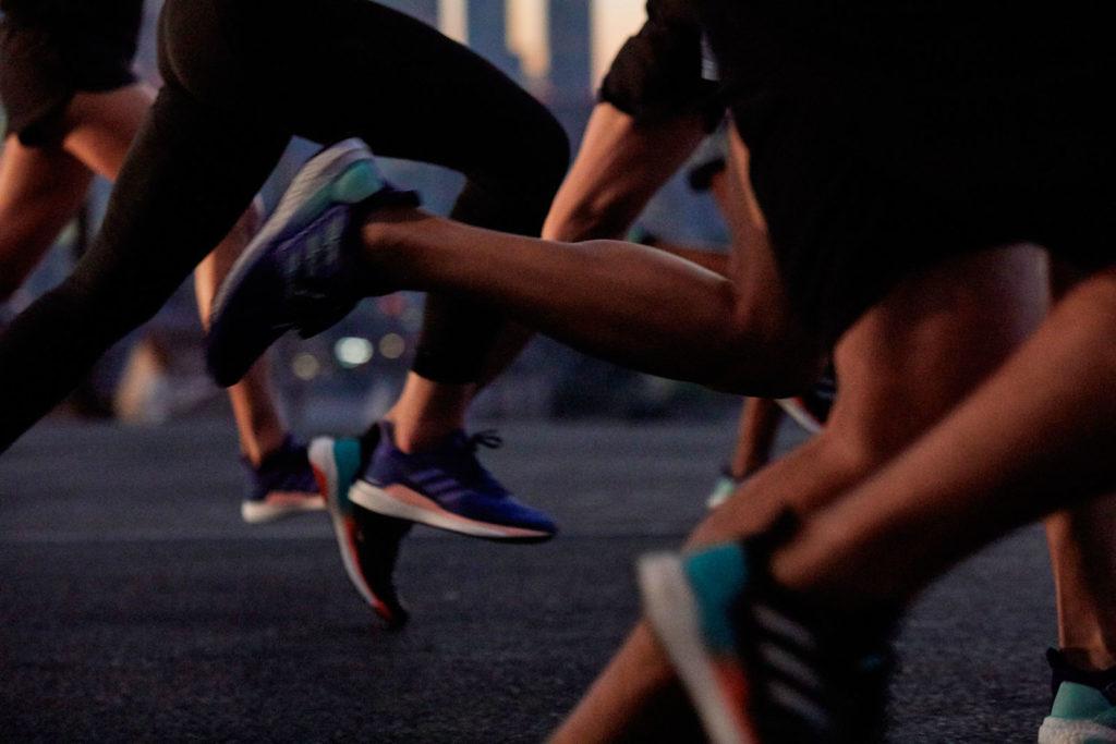 Zapatillas running adidas SolarBOOST. Extremadamente técnicas.