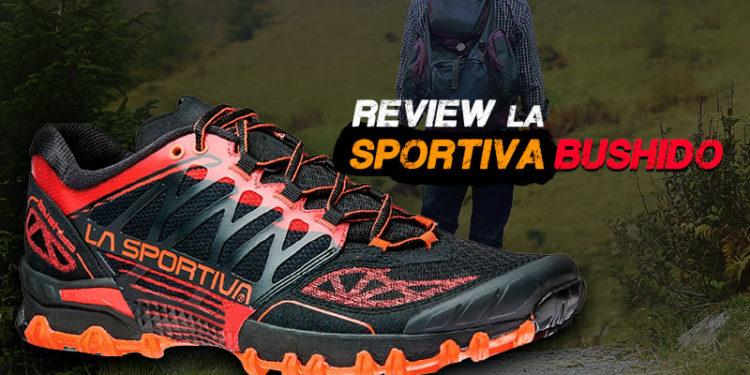 Practica trail running más cómodo con La Sportiva Bushido