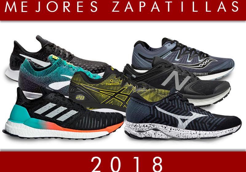 mejores zapatillas running 2018