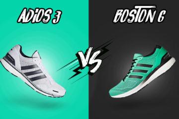 Comparativa: Boston 6 VS Adios 3