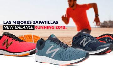 Presentación de las zapatillas running New Balance 2018