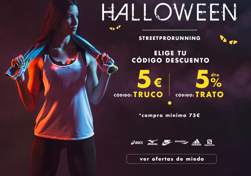Códigos descuento en Halloween running