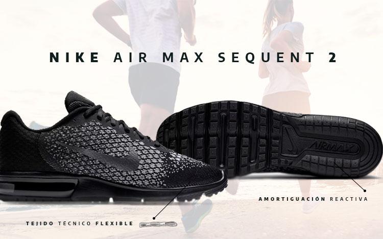 reputable site 401ea 355fd Análisis Nike Air Max Sequent 2.