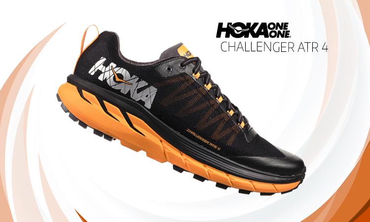 Zapatillas Hoka Challenger vista entresuela