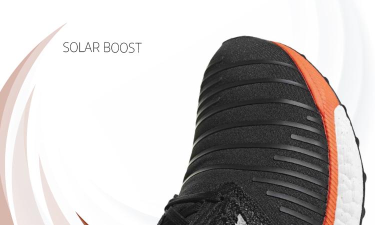 Adidas Solar Boost, primerísimo primer plano upper