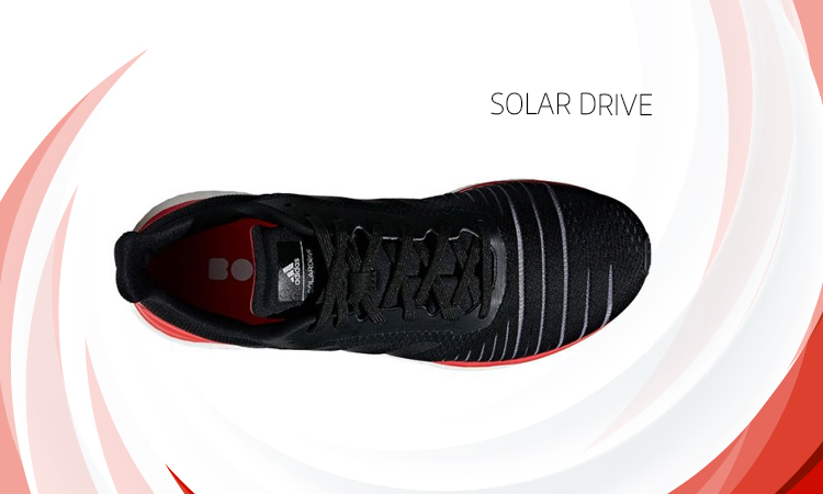 Parte superior calzado running Solar Drive