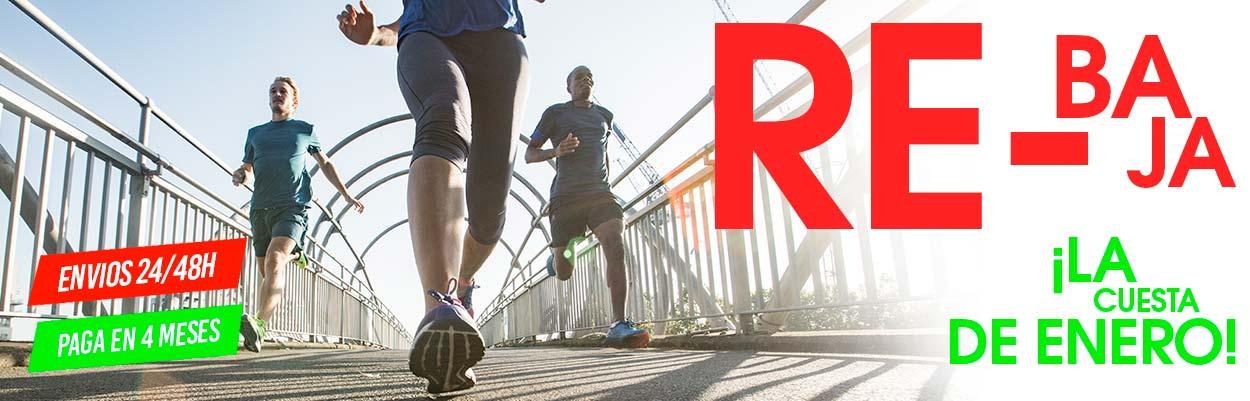 Increibles rebajas en running para superar la cuesta de enero
