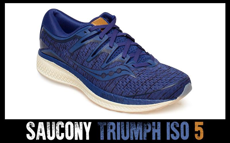 Saucony Triumph ISO 5, zapatillas running para peso elevado