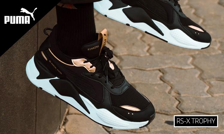 Puma RS-X, las zapatillas casual de moda. Gama RS-X de Puma