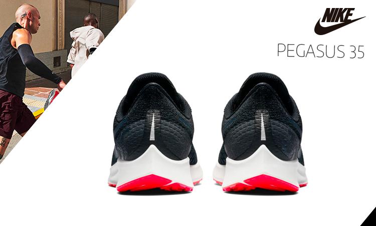 Más grande Convención Matrona  Nike Pegasus 35 - Análisis a fondo. ModeloTop Nike Running