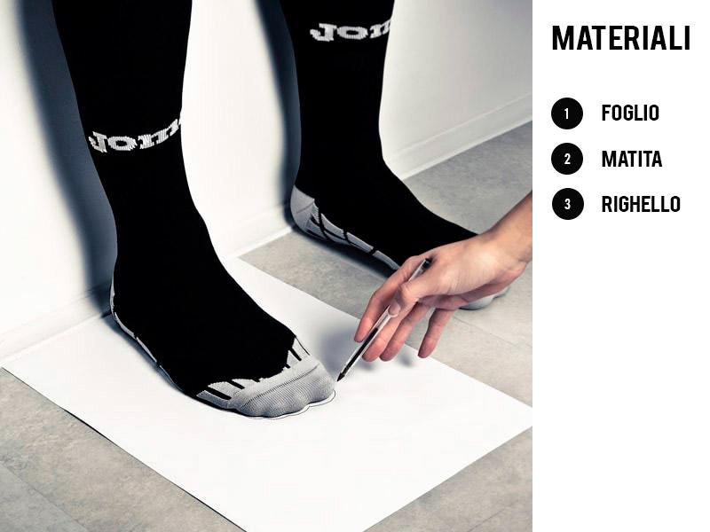 Come scegliere la taglia delle tue scarpe running
