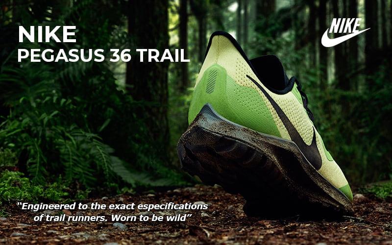 Nike Pegasus 36 Trail. Análisis y cambios | Versión Trail 2019