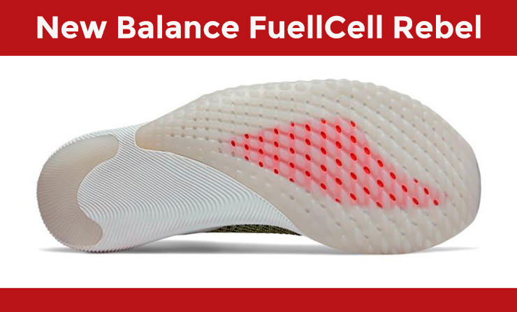 New Balance FuelCell Rebel Suela