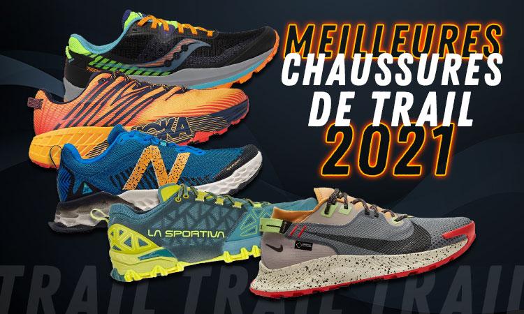 meilleures chaussures de trail 2021
