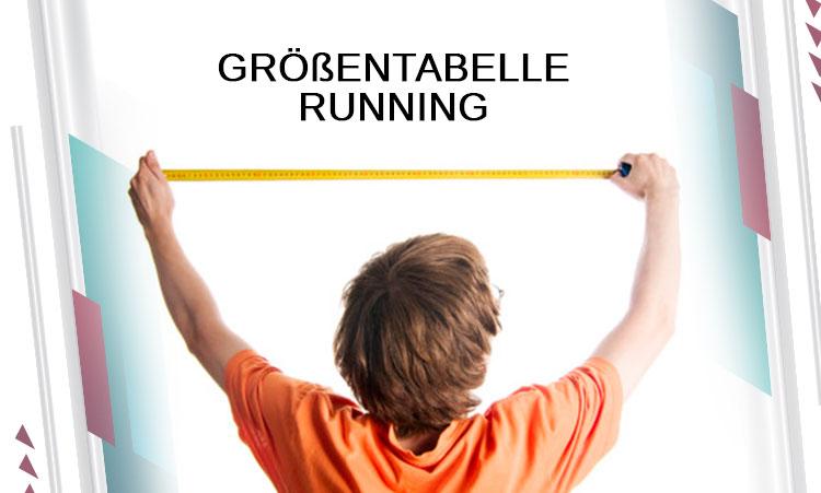 GRÖßENTABELLE RUNNING