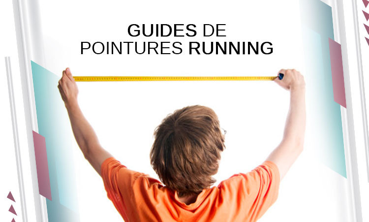 guide pointures running