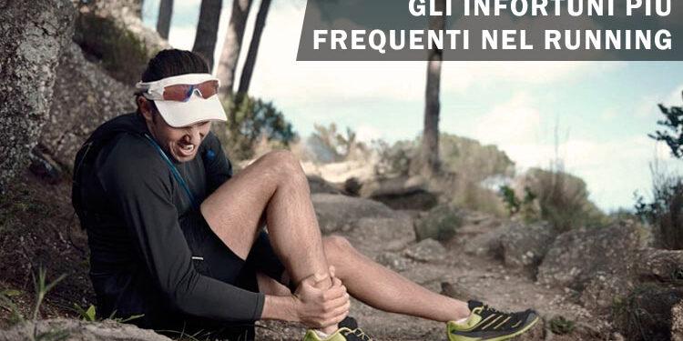 infortuni più frequenti nel running