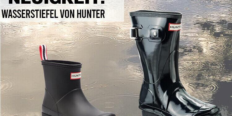 Wasserstiefel von Hunter