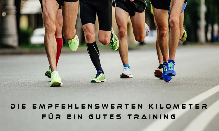 mehr Kilometer laufen