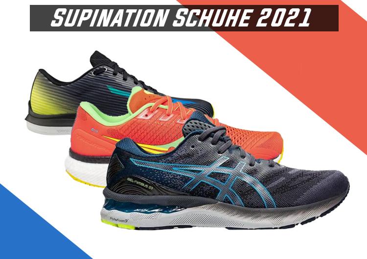 Schuhe für Supinierer-Läufer