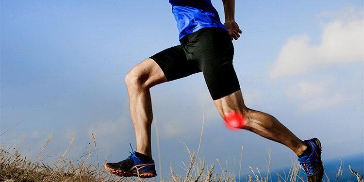 le genou du coureur
