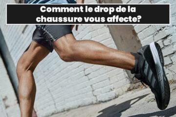 drop de la chaussure