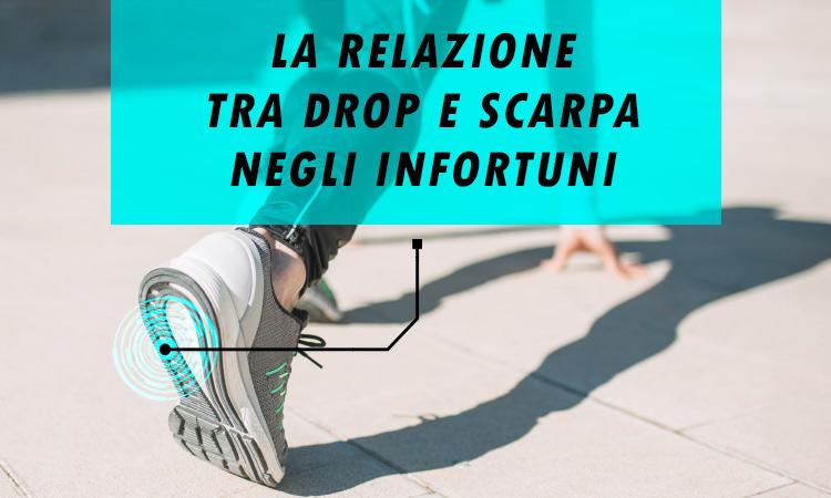 Relazione tra drop e scarpa negli infortuni