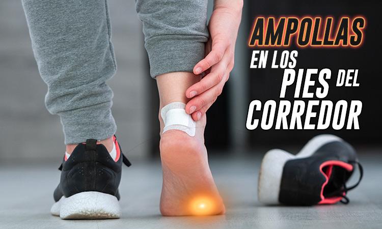 como curar las ampollas de los pies
