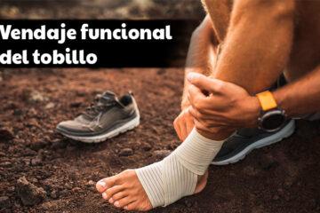 Vendaje funcional de tobillo