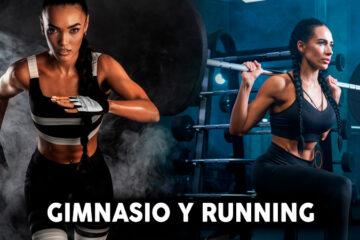 correr y gimnasio