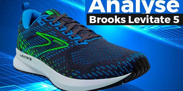 Brooks Levitate 5 Laufschuhe.