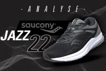 Saucony Jazz 22 in Schwarz und Grau