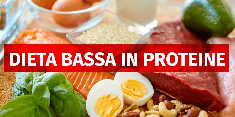 Dieta bassa in proteine